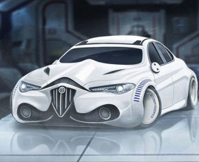 Star Wars Cars by Carwow Stormtrooper
