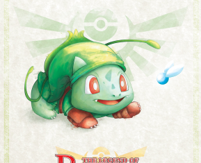 Pokemon Zelda Mashup by David Pilatowsky Bulbasaur