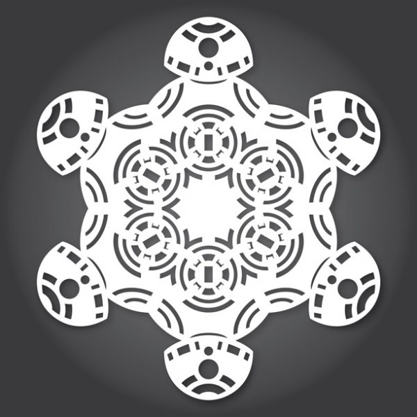 Star Wars SnowFlakes by Anthony Herrera BB 08