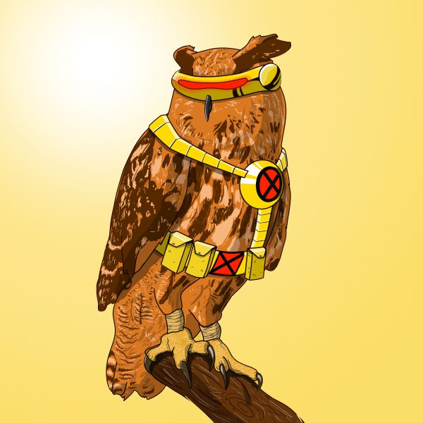 Animals like Superheroes by Suraj Sirohi Cyclops Owl