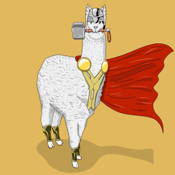 Animals like Superheroes by Suraj Sirohi Thor Lama